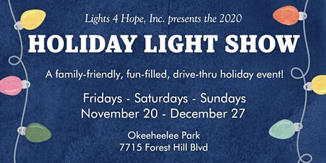 LIGHTS 4 HOPE HOLIDAY LIGHT SHOW entradas