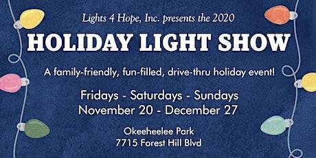LIGHTS 4 HOPE HOLIDAY LIGHT SHOW tickets