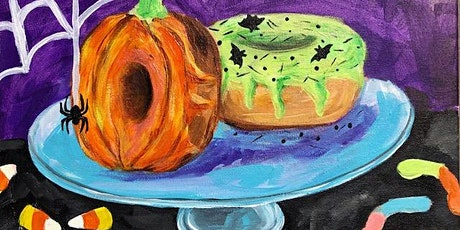 Best Paint Night 'Spooky Delicious Donuts' tickets