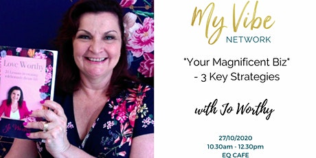 Your Magnificent Biz - 3 Key Strategies tickets