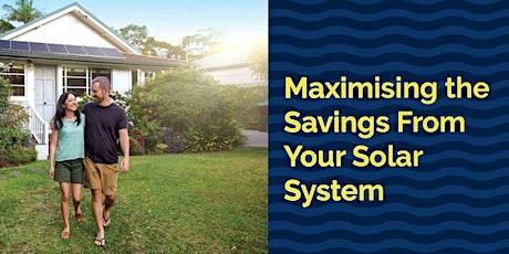 Maximising the Savings from your Solar Webinar - Mornington Peninsula Shire tickets