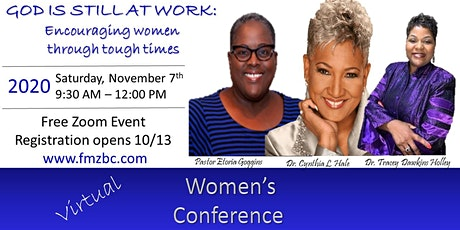 Women's Ministry Concert 11/6 via Live stream & Conference 11/7 via Zoom tickets