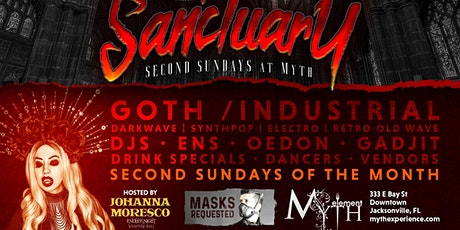 Second Sunday Sanctuary at Myth Nightclub | 11.08.20 tickets