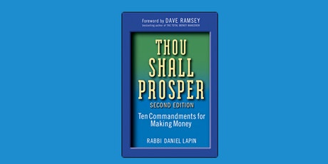 Book Review & Discussion : Thou Shall Prosper tickets