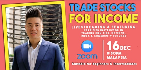 Learn How To Trade Stocks To Increase Your Income and Savings tickets