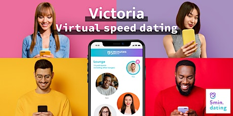 Victoria Virtual Speed Dating for 30s & Over singles | Nov 6 tickets