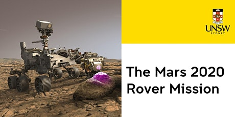 The Mars 2020 Rover Mission tickets