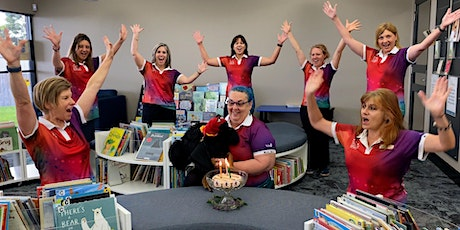 Berky's Birthday Story Time - Gordon White Library tickets