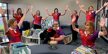 Berky's Birthday Story Time - Dudley Denny City Library tickets