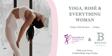 ROCK YOUR ROSÉ! Yoga, Rosé & Everything Woman tickets