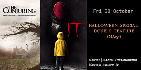 POP UP DRIVE IN | HALLOWEEN SPECIAL DOUBLE FEATURE  (MA15+) | Fri, 30 Oct tickets