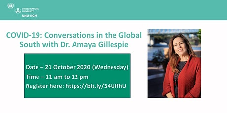 COVID-19: Conversations in the Global South with Dr. Amaya Gillespie tickets