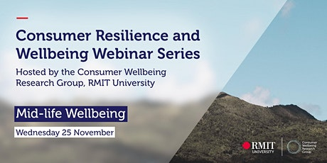 Consumer Resilience and Mid-life Wellbeing tickets