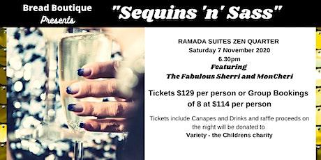 Sequins & Sass tickets