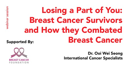 Breast Cancer Survivors and How they Combated Breast Cancer tickets