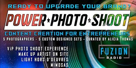 Entrepreneur Power Photo Shoot tickets