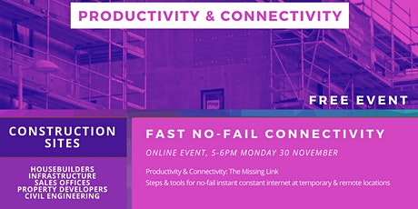 Increasing Productivity in Construction through Connectivity tickets
