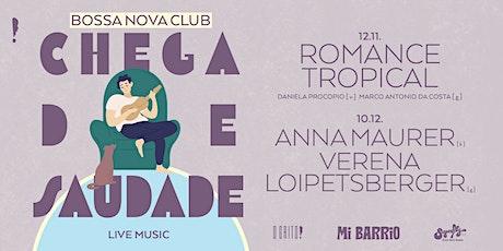 """Bossa Nova Club: """"Chega de Saudade"""": Romance Tropical Tickets"""