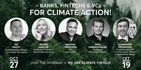 We Are Climate FinTech tickets