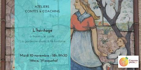 Atelier Contes & Coaching  : atelier de développement personnel tickets