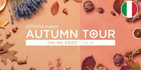Autumn Tour Online 2020 - Swiss/Italian tickets