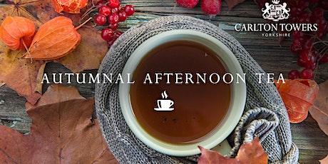 Autumnal Afternoon Tea tickets