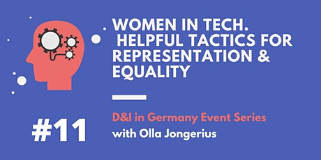 Women in tech.  Helpful tactics for representation tickets