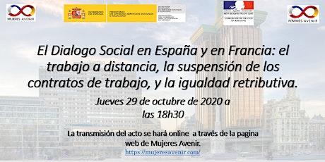 El Dialogo Social en España y en Francia entradas