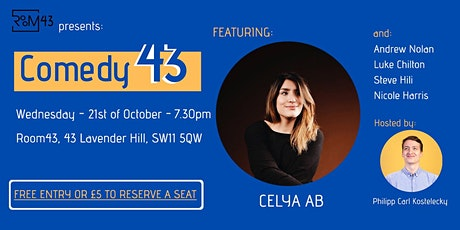Comedy 43 - 21st of October tickets