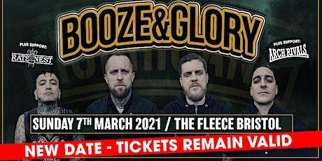 Booze & Glory tickets