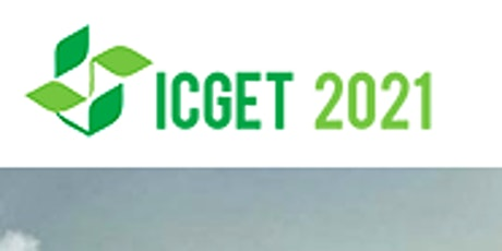 6th International Conference on Green Energy Technologies (ICGET 2021) tickets