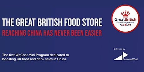 Great British Food Store - How to successfully sell in China through WeChat tickets