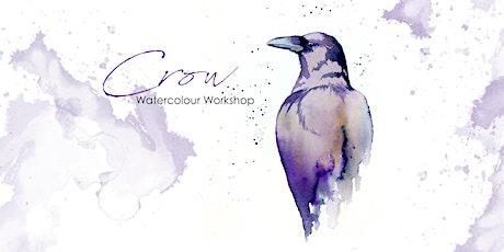 Crow - Watercolour Workshop [ONLINE] tickets