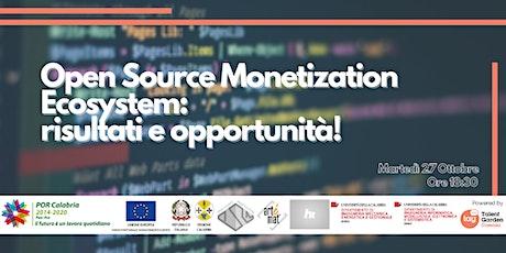 Open Source Monetization Ecosystem: risultati e opportunità! biglietti