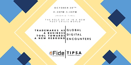 GDE 6- Trademarks as a business tool towards a new rebound Tickets