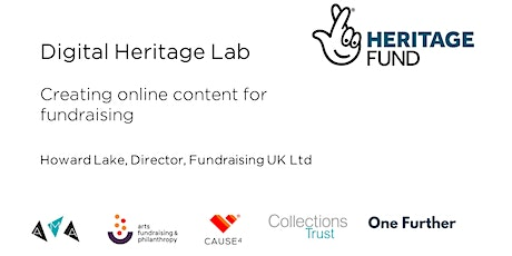 Creating online content for fundraising tickets