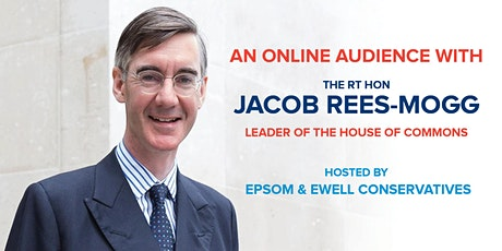 An Online Audience with the Rt Hon Jacob Rees-Mogg MP tickets