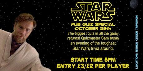 Star Wars Pub Quiz tickets