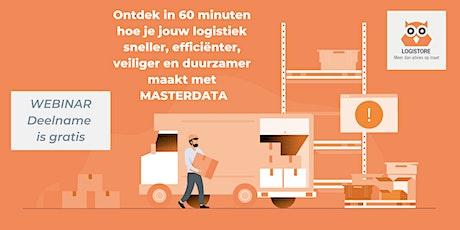 Masterdata: zo boek je er de volle winst mee in jouw logistiek tickets