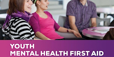YOUTH Mental Health First Aid -					 Two day course tickets