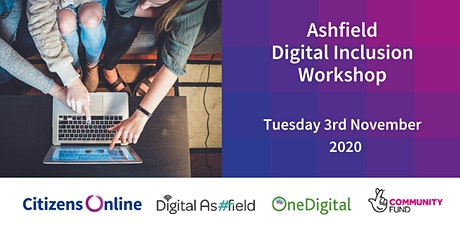 Ashfield Digital Inclusion Interactive Workshop tickets