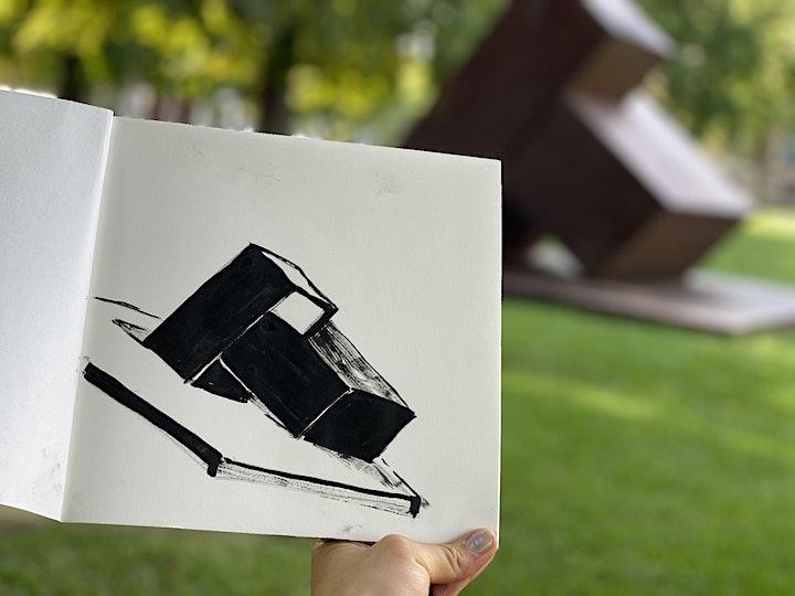 Rund um's Haus | Outdoor Zeichenkurs I  für 6-10 J.: Bild
