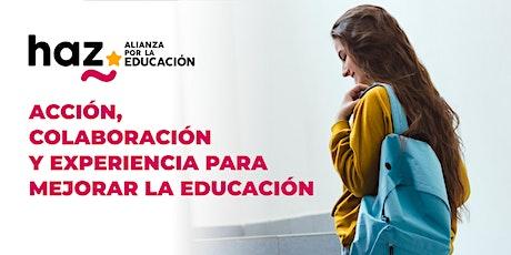 Presentación de HAZ, Alianza por la Educación entradas