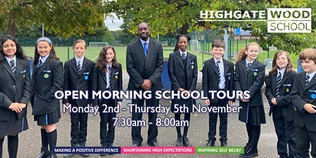 Open Mornings (School Tours) tickets