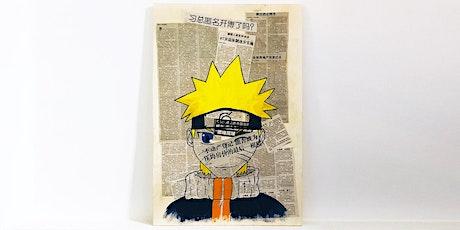 Sa, 03.07. | 14 - 17 Uhr I Workshop für Jugendliche | Manga zeichnen tickets