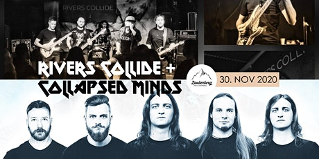 Rivers  Collide + Collapsed Minds | Progressive Metal Tickets