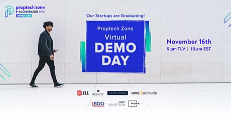 Proptech Zone Accelerator DEMO DAY tickets