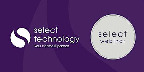 Select Webinar: Cyber Security tickets