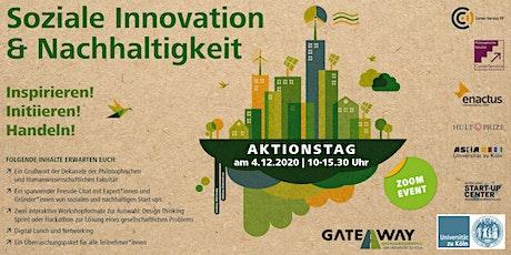 """Aktionstag """"Soziale Innovation & Nachhaltigkeit"""" Tickets"""