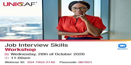 Free Job Interview Skills Workshop tickets